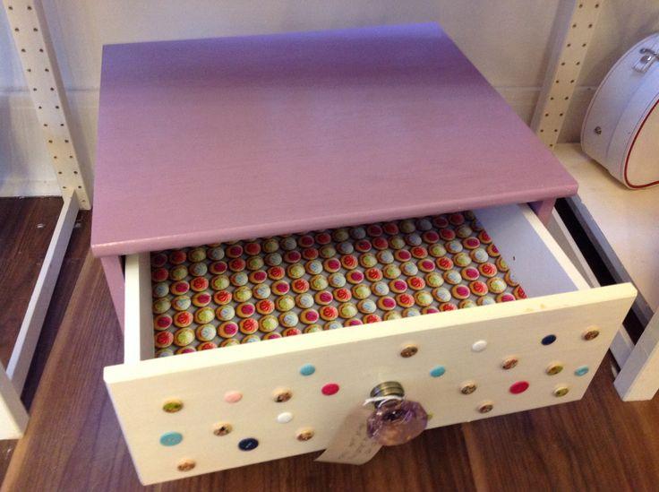 Upcycled Bedside Table Pennington 39 S Pinterest