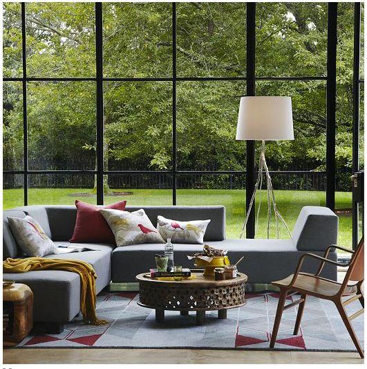 Lounge L Shape Couch Option
