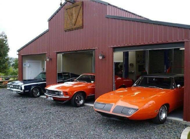 Muscle Car Garage Dream Garage Pinterest