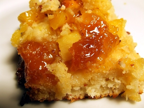 Fresh Pineapple Upside- Down Cake with Caramelized Pineapple Topping ...