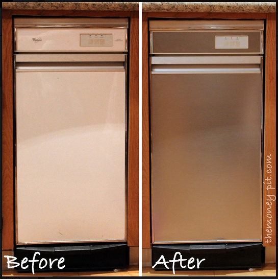 How To Turn Appliances Into Stainless Steel For 25!