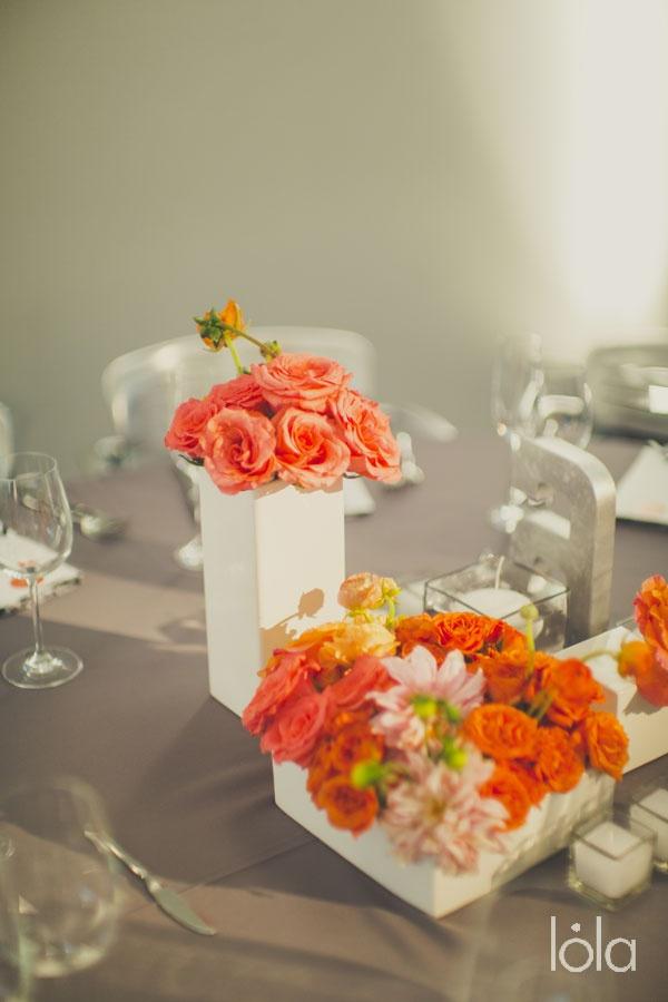 Coral Wedding Flowers Flowers Bouquets Pinterest