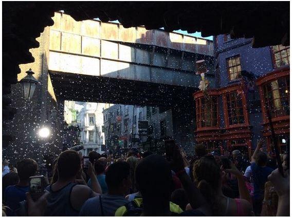 Mundo Mágico de Harry Potter no Parque Universal, Orlando.