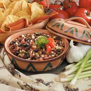Black-Eyed Pea Salsa - I made this on Father's Day and it was a hit!