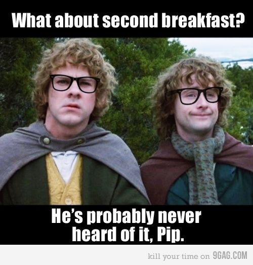 Hipster Merry and Pippin