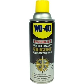 WD Specialist Water Resistant Silicone Lubricant Spray