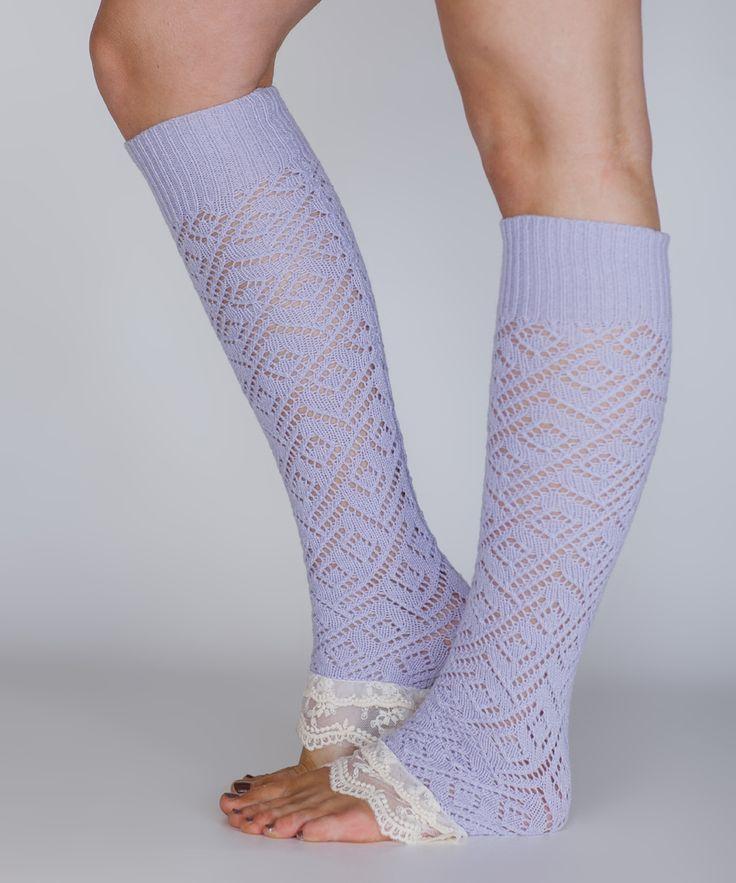 Lilac Lace Leg Warmers   Fashion   Pinterest