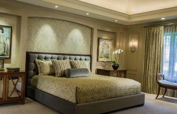 Спальни классический дизайн