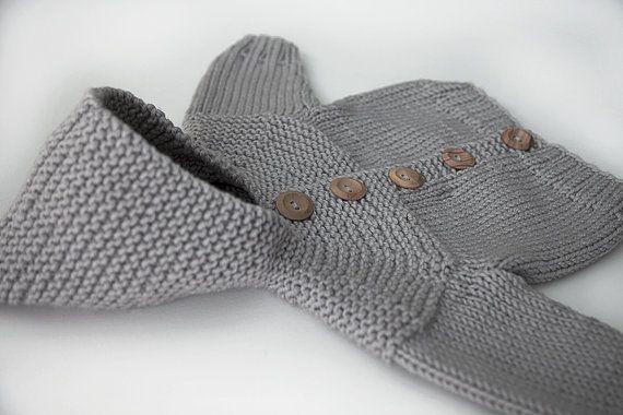 in cloud hand knit pixie hood baby jacket cardigan merino wool. Black Bedroom Furniture Sets. Home Design Ideas