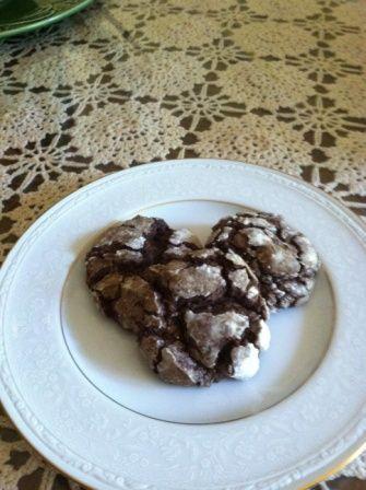 Gluten Free Cocoa Cardamom Spice Cookies #recipe #baking #dessert
