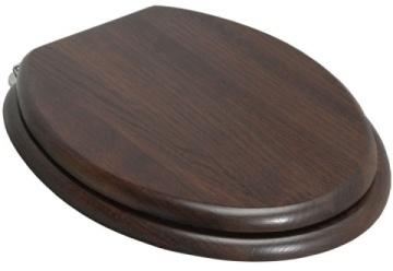 walnut wooden toilet seat george cafe pinterest