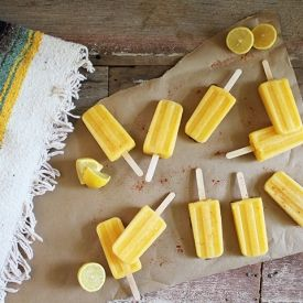 Paleta | Pineapple Mango Cayenne. A sweet hot paleta recipe filled ...