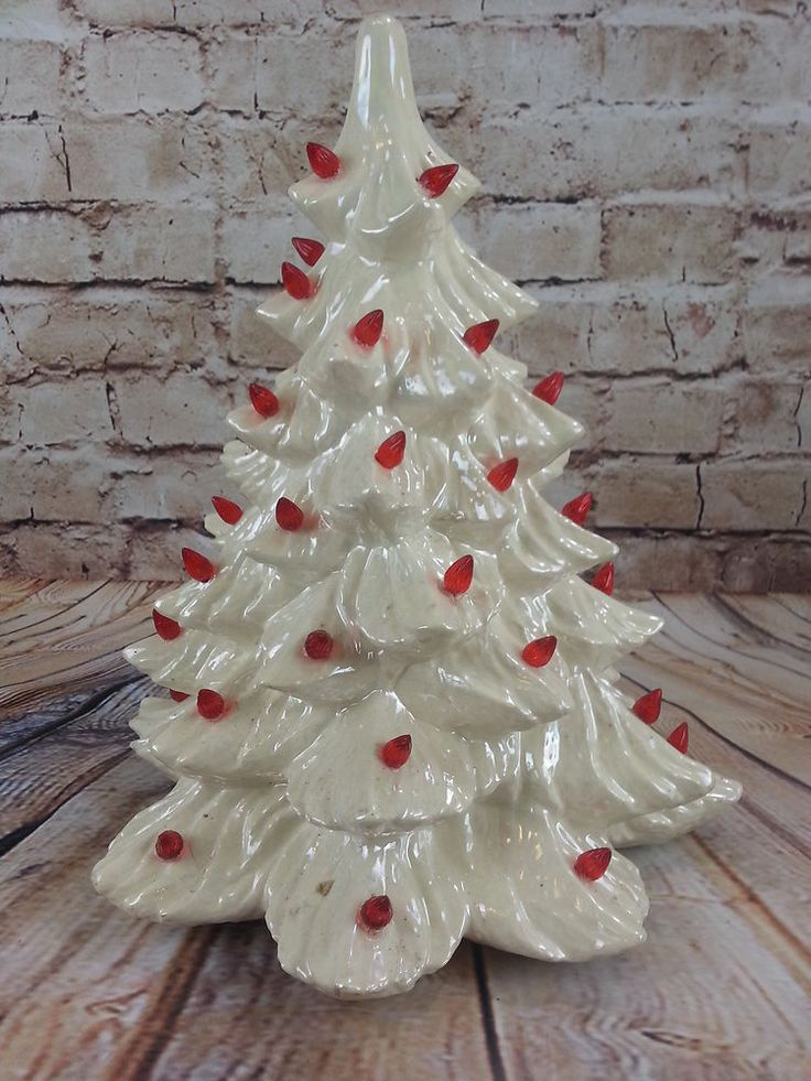 White Christmas Trees Pinterest