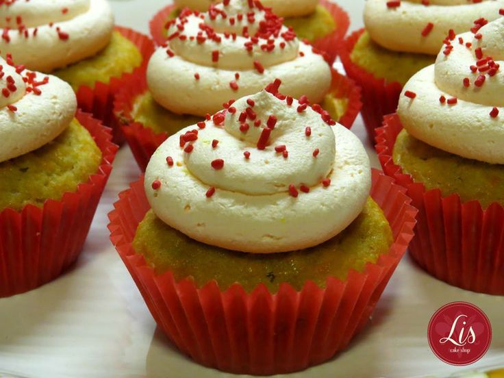 ginger and #carrot #cupcakes | Lis. Cake Shop | Pinterest