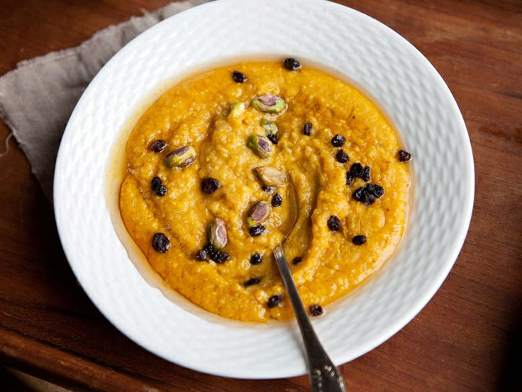 Pumpkin Polenta | Food! | Pinterest