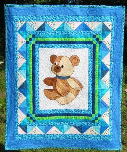 Лоскутное шитье Детские одеяла