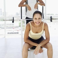 Tricep toning exercises with barbells kettleball barbells and weig