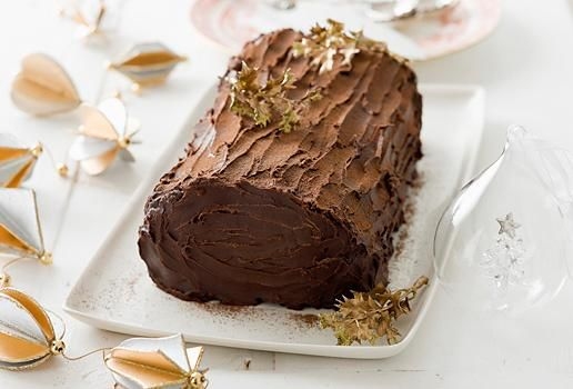 Chocolate Ripple Yule Log | chocolate..***** | Pinterest