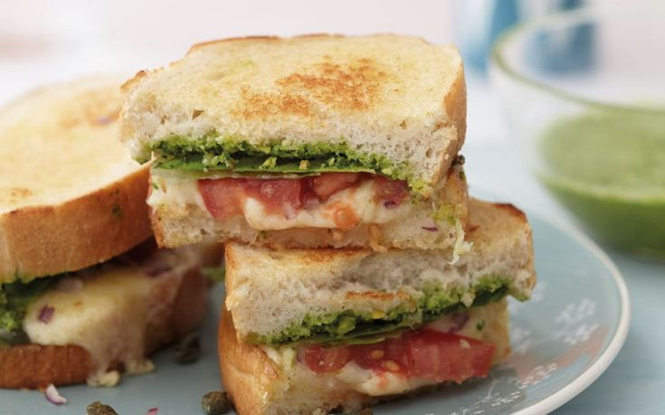 ... my mother cooked a grilled cheese sandwich with chutney, just for me