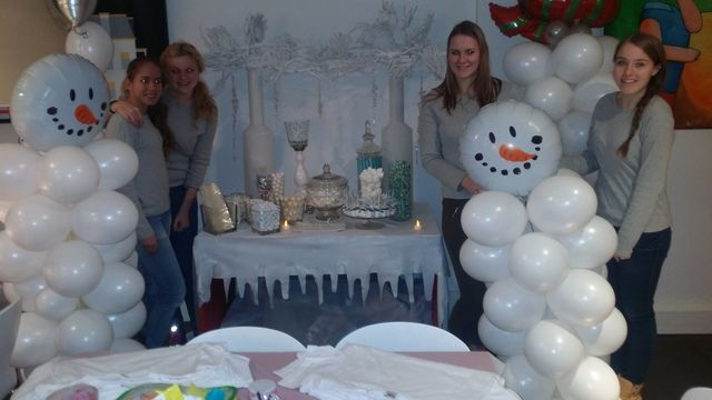 Original Winter Wonderland In The Ballroom Office Christmas Party In