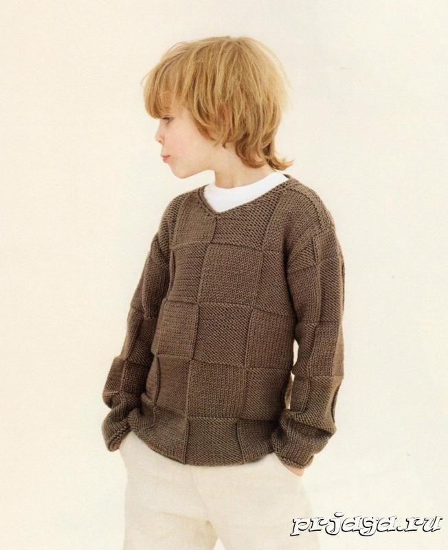 Вязание для мальчика подростка свитера 96