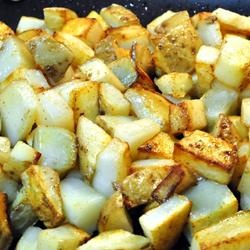 Quick and Easy Home Fries Allrecipes.com | Food | Pinterest
