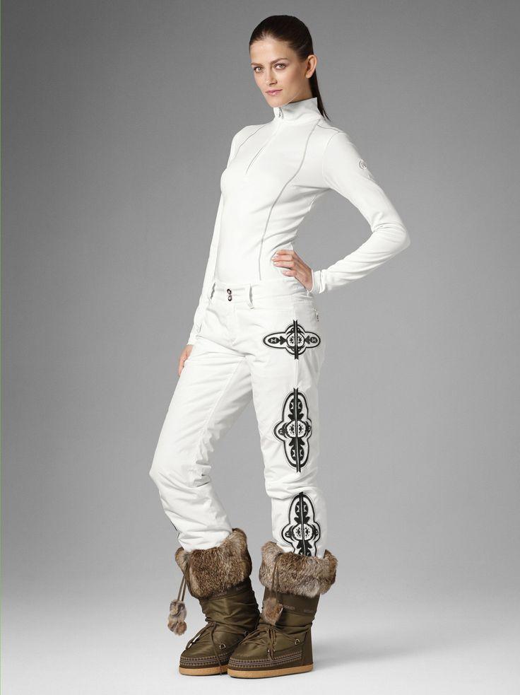 Ski Pants Nelly, Off White | Women's Ski Clothing, Ski Wear | Bogner