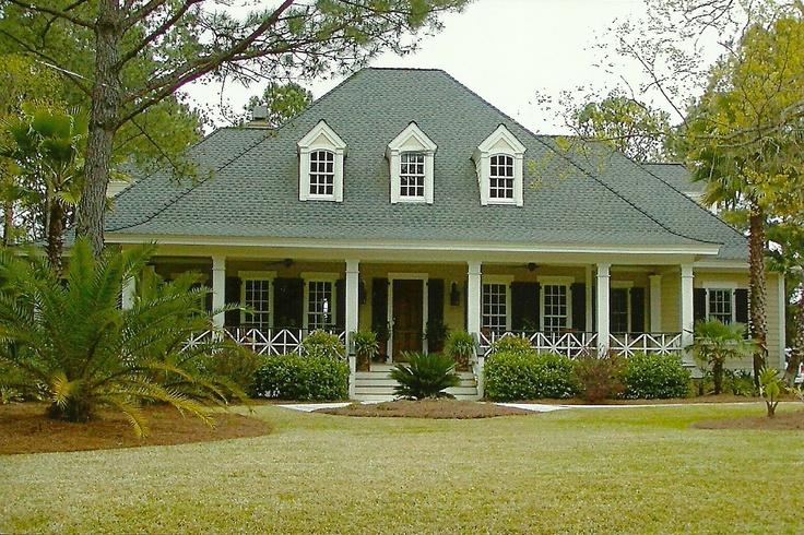 20 harmonious beaufort cottage home plans blueprints for Bayou cottage house plan