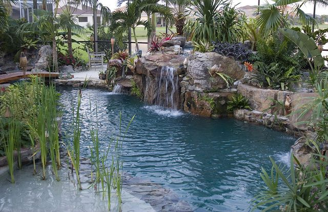 Walk In Pools Designs For The Home Pinterest