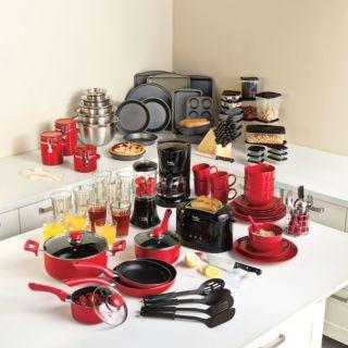 145pc complete kitchen starter set awesome home decor for Kuchen starterset