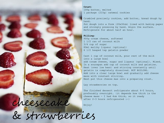 No cook Strawberry Coconut Cheesecake. Totally making this this ...