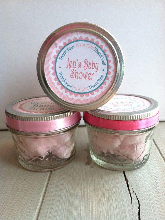 Mason Jar Glasses Favors For Baby Shower ...