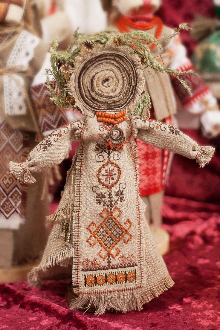 Кукла мотанка берегиня своими руками из ткани 724