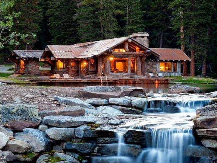 Big Sky Montana Home Dreaming Big Home Pinterest