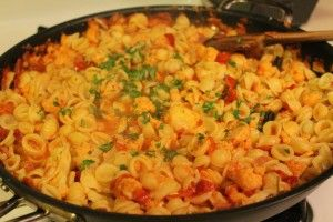 Orrechiette with Cauliflower and Prosciutto www.myitaliangrandmother ...