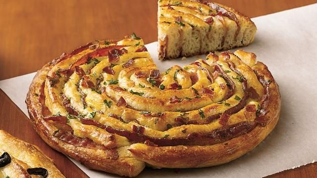 Bacon Breadstick Focaccia using Pillsbury Breadsticks...looks like an easy brunch recipe worth trying.