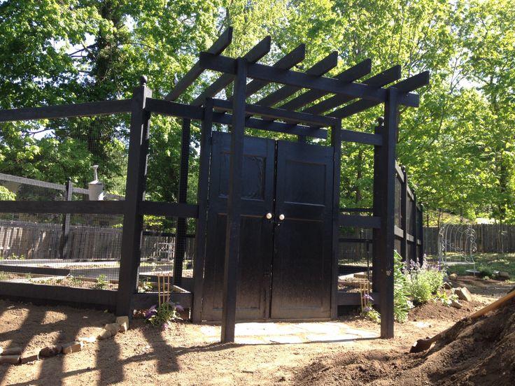 Garden/vegetable enclosure | Gardening | Pinterest
