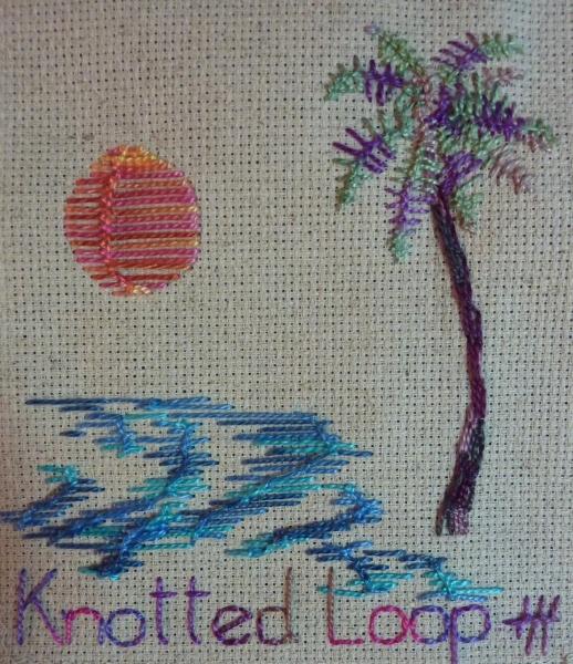 Embroidery Loop Stitch | Ausbeta.com