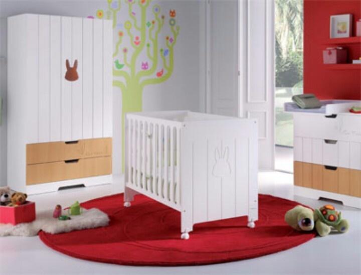 Decoracion Habitacion Ni?os ~ rojo y blanco  cunas y dormitorios de ni?os  Pinterest