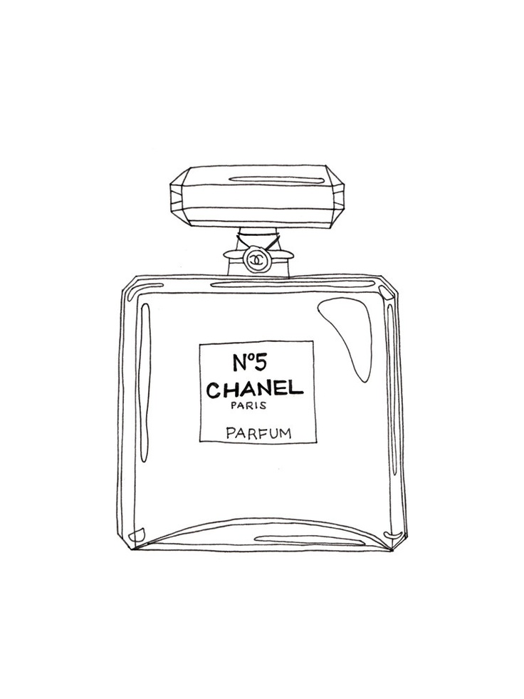 coloring pages perfume - photo#30