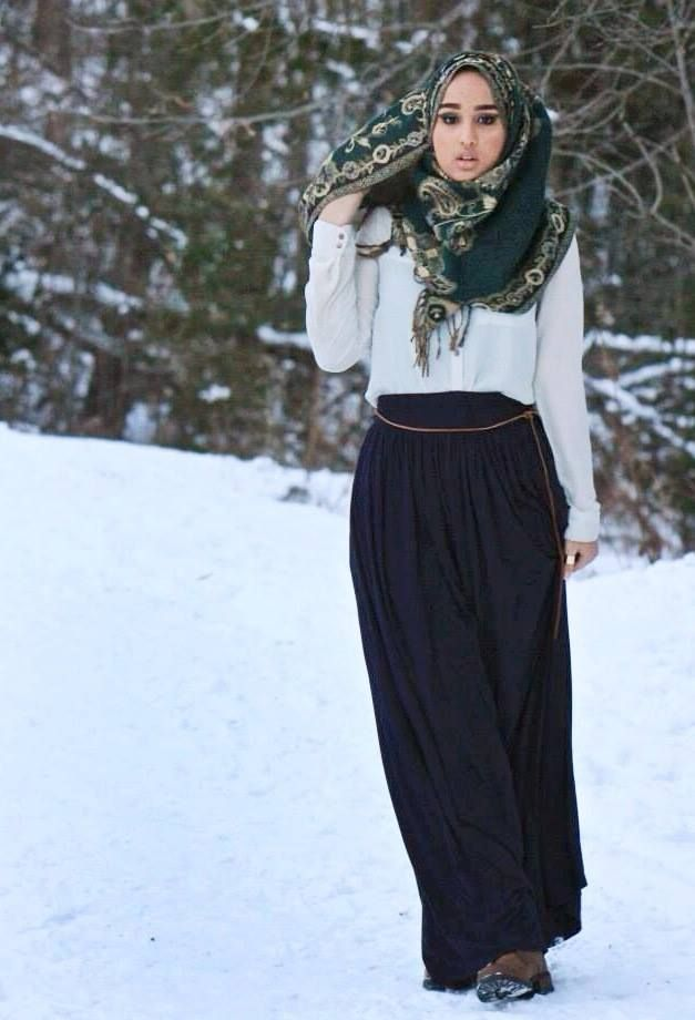 Modest Street Fashion Contest 2014 Hijab Style Pinterest