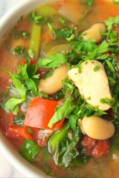 Slow cooker italian chicken soup   What's for dinner   Pinterest