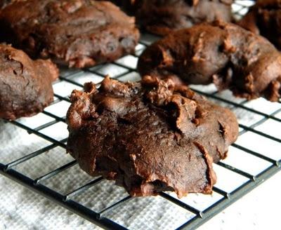 Easy chocolate pumpkin cookies | I like food... | Pinterest