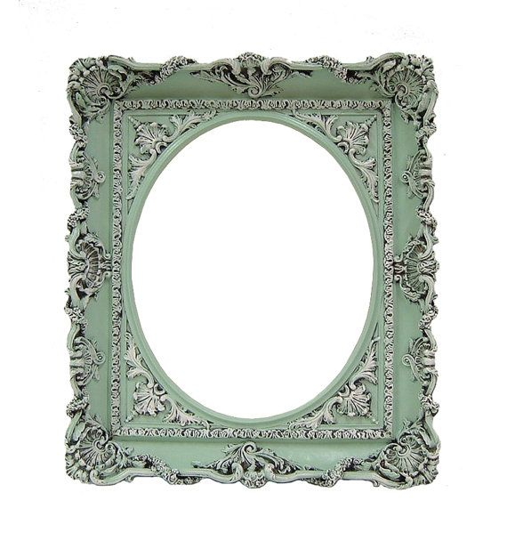 Shabby Chic Frame Pastel Mint Green Picture Frame 8x10 Wedding Frame ...