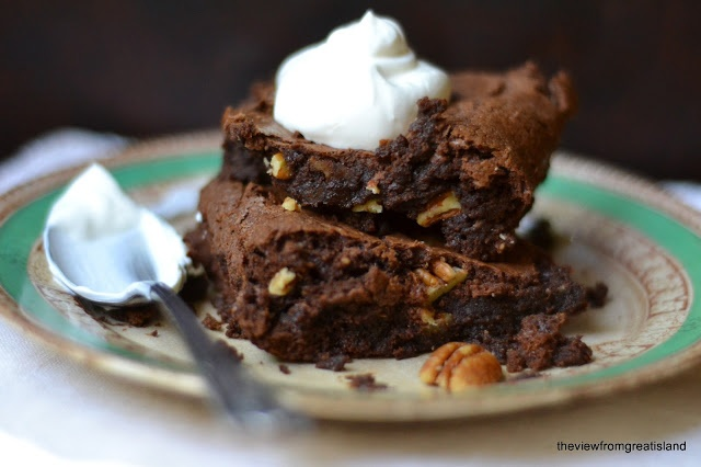 The view from Great Island: Flourless Chocolate Brownies. Switch out ...