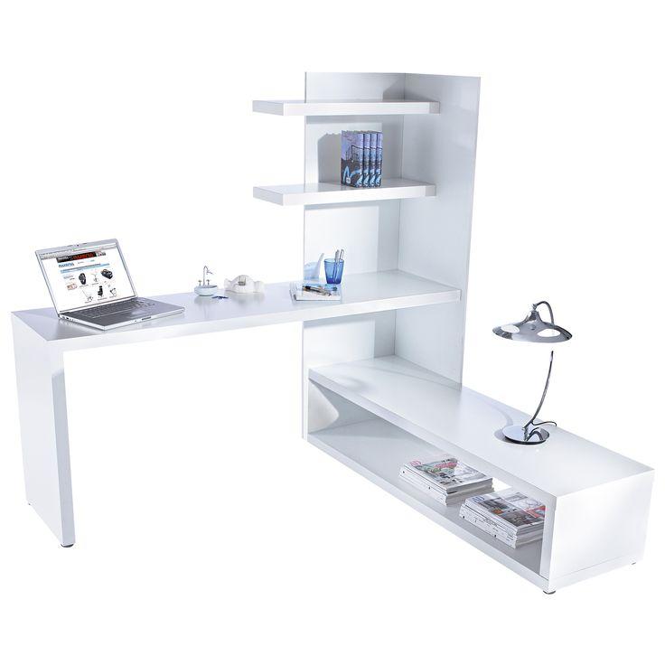 Schreibtisch mit eckregal 4laptop pinterest for Schreibtisch pinterest
