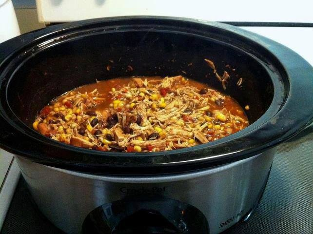 Crock Pot Santa Fe Chicken | That's a Crock | Pinterest