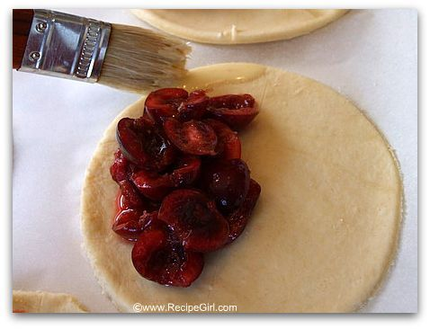 Sweet-and-Sour Cherry Turnovers With Goat Cheese Cream Recipe ...