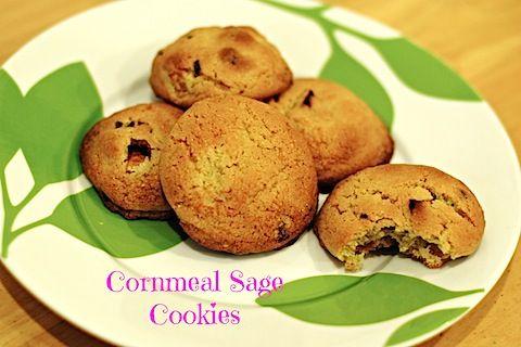 Cornmeal Sage Cookies | Good To Eat like to Eat!!! | Pinterest