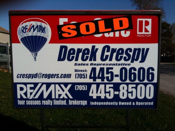 Favorite Real Estate Agent Collingwood  DEREK CRESPY RE/MAX  email. crespyd@rogers.com   direct -(705) 445-0606